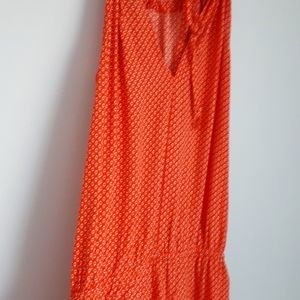 Old Navy Other - Old navy orange Romper tie top